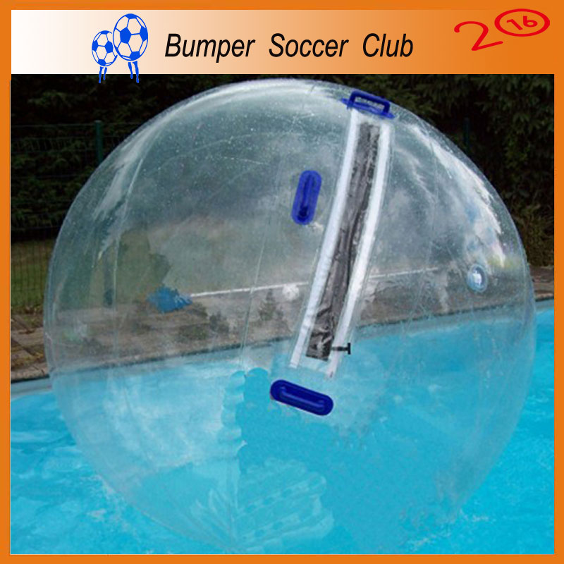 Free shipping! Manufacturer customize ! Water Polo Balls For Sale Clear Human Hamster Water Ball Walk On Water Balls Pool(China (Mainland))