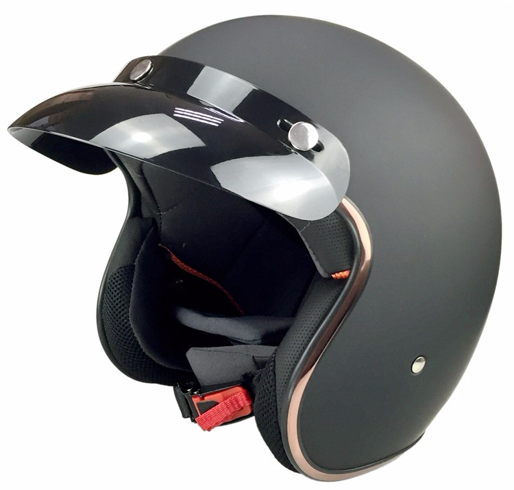 (1pc) DOT Approval Jet Motorcycle Helmets Vintage Helmet Retro Open Face Halley Half Helmet Moto 3/4 Casco(China (Mainland))