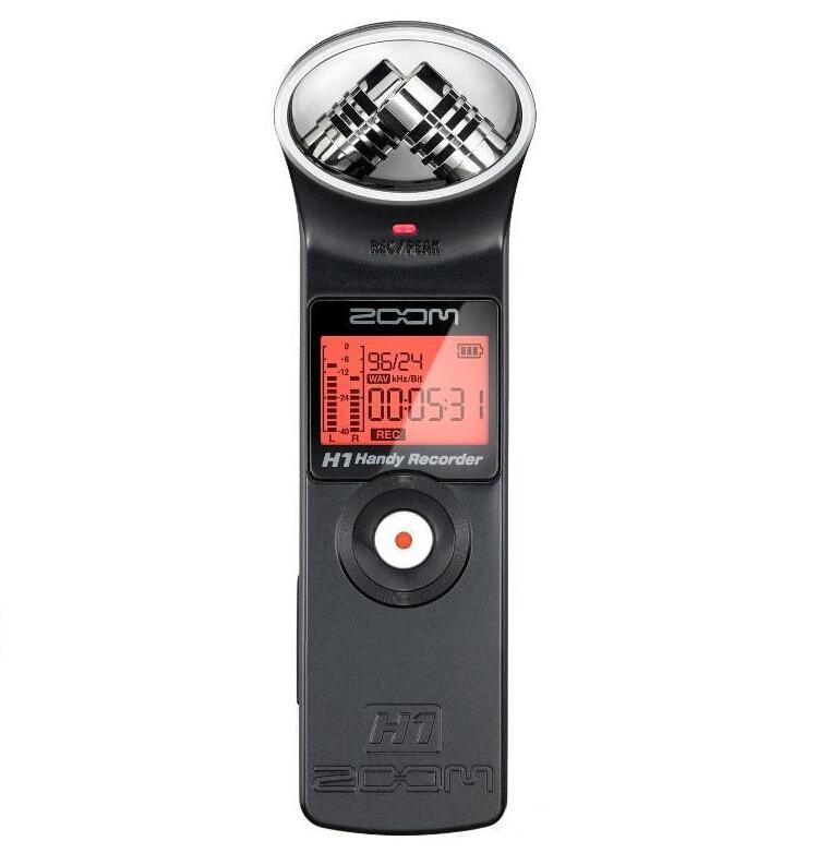 Цифровой диктофон Zoom h1, mp3 USB удлинитель zoom ecm 3