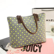 2016 Top Fashion New Arrival Bolsas Women Leather Handbags Spring Canvas Bag Small Women's Handbag Color Block Shoulder