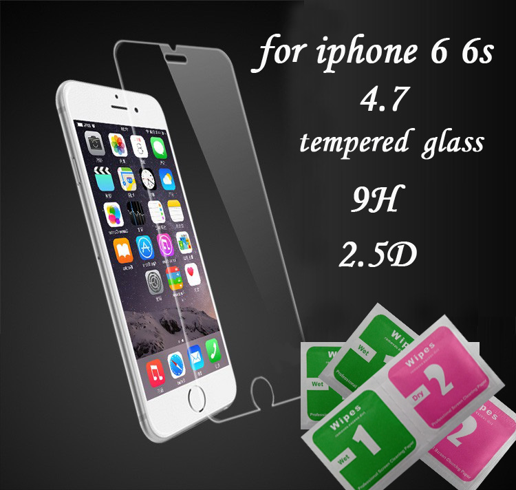 Protective Glass For iphone 6 Tempered Glass for iphone 6s font b Screen b font font