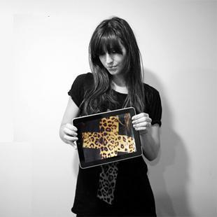 Free shipping short Sleeve Tee women's blouse Leopard cross cotton black T-shirt