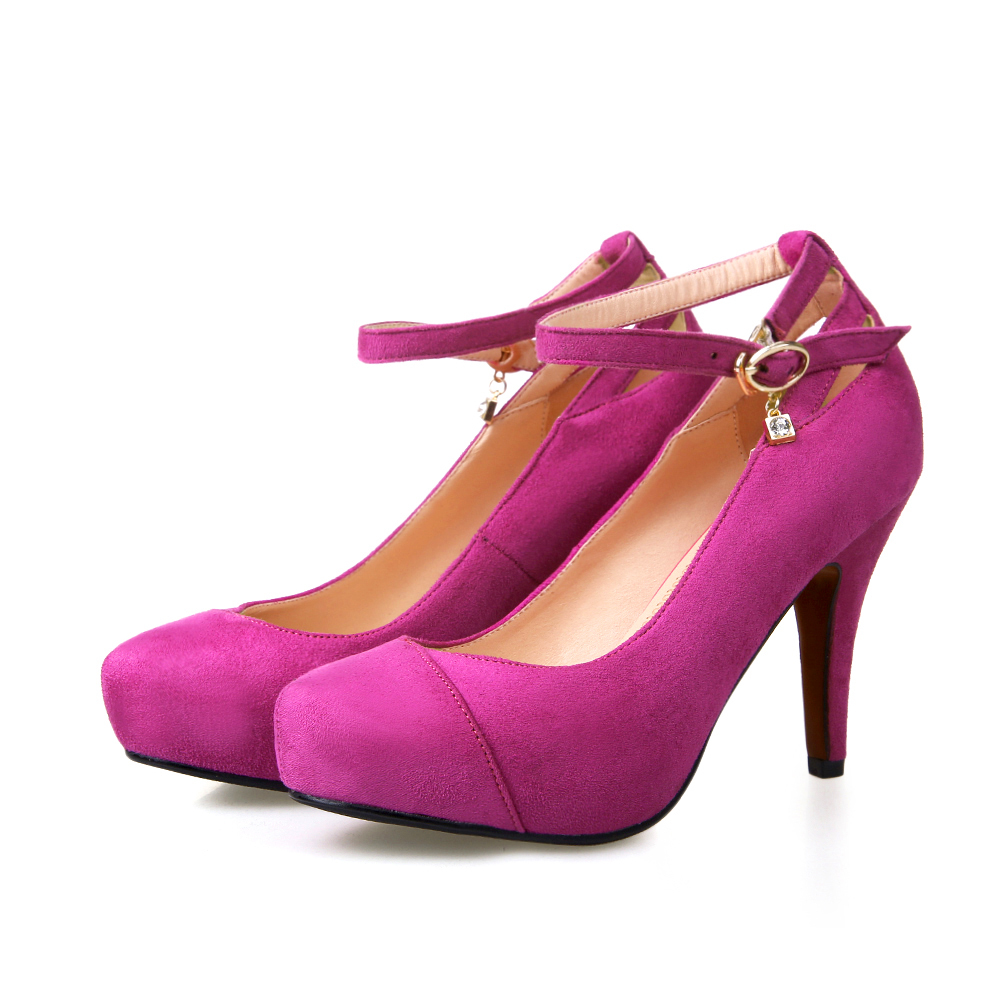 Purple And Pink Heels