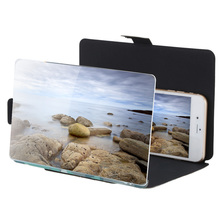 """8.2"""" Camouflage Enlarge 3 times of Mobile Phone Screen Magnifier Amplifier HD Expander Stand Holder for 3D Movie Video Display(China (Mainland))"""