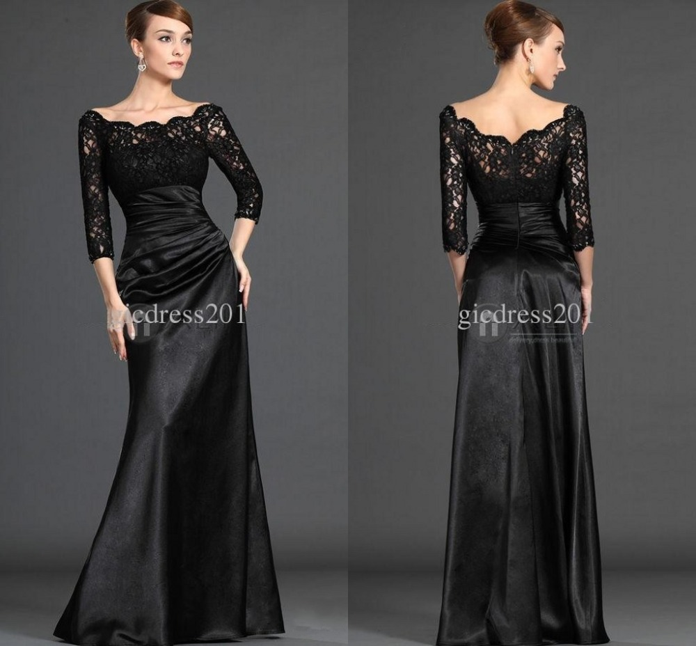 Long Sleeve Lace Brides Mother Of The Bride Dresses Formal