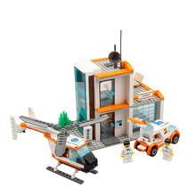 KAZI City Hospital Rescue Center Kids Toys For Children Helicopter Car Minifigures Building Blocks Sets Compatible With Legoe