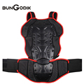 2017 HEROBIKER Riding Motorcycle Back Ski Fall Back Support Armor Vest Spinal Shock Protection MC103R
