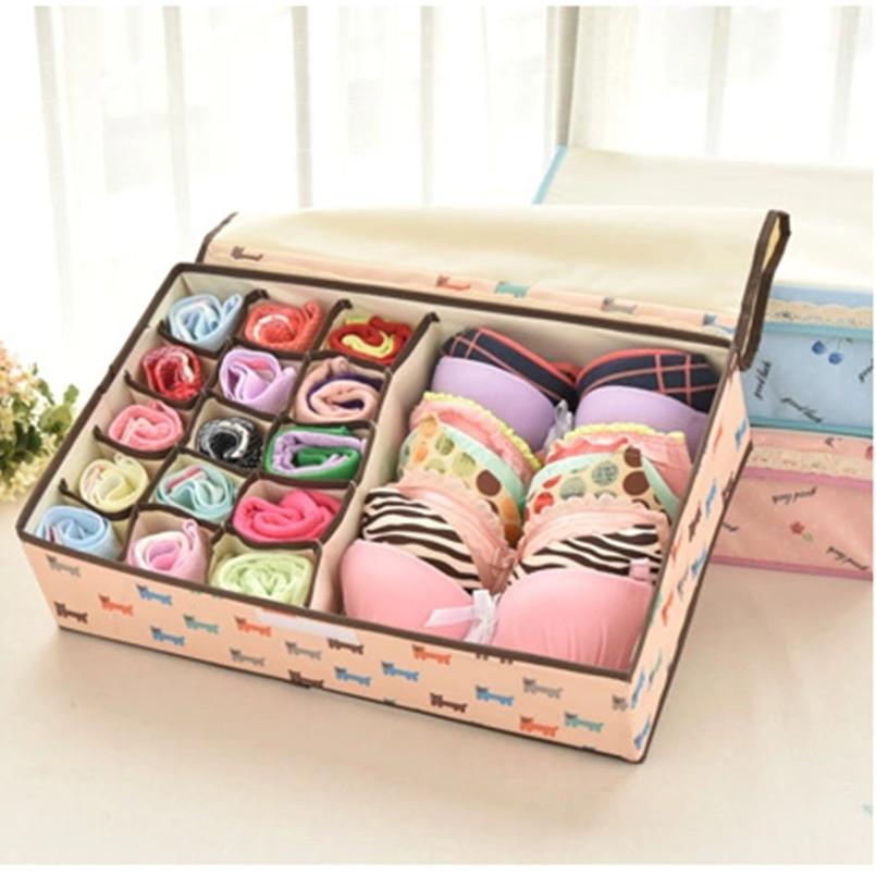 Oxford Drawer Cloth Home Storage Box,Underwear Non-Woven Fabric Organiser Bag,Kit Meias Storage Chest Cajas Organizadoras(China (Mainland))