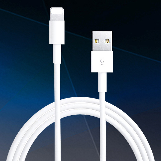 Top Quality 2016 Latest White Wire 8pin USB Date Sync Charging Charger Cable For iPhone 5 5S 6 6S Plus For iPad For ios 7 8 9 1M