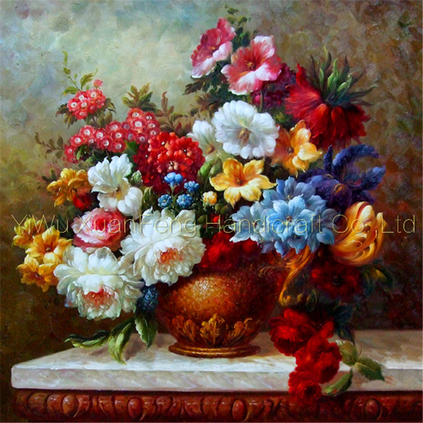 Diamond cross stitch full square rhinestone Beautiful colorful flowers floral Classical painting mosaic embroidery Decoration(China (Mainland))