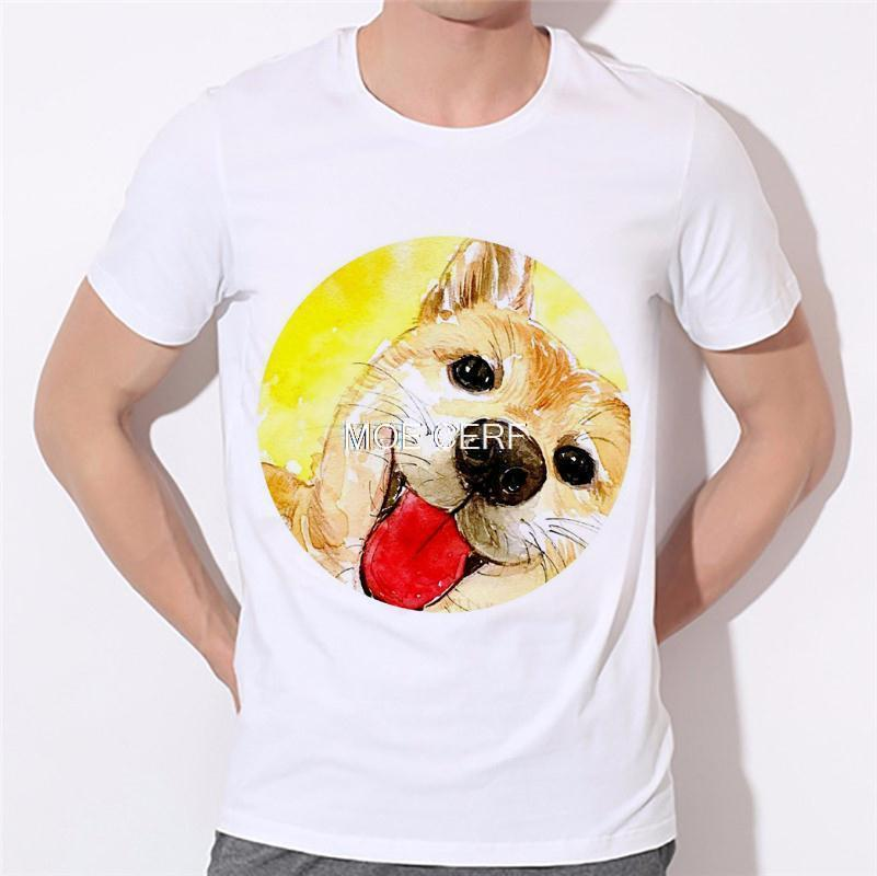 Moe Cerf Dogs Pug Tops Tees Shirt Hot Sale T Shirts Men Game Of Thrones 3D Man T-shirt Star Wars O Neck Mens t shirt B-137#  HTB14gKsKVXXXXaEXpXXq6xXFXXXH