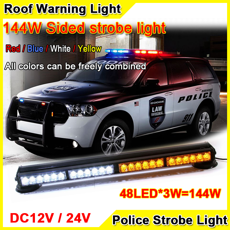 car roof led strobe lights bar ambulances fire trucks warning light. Black Bedroom Furniture Sets. Home Design Ideas