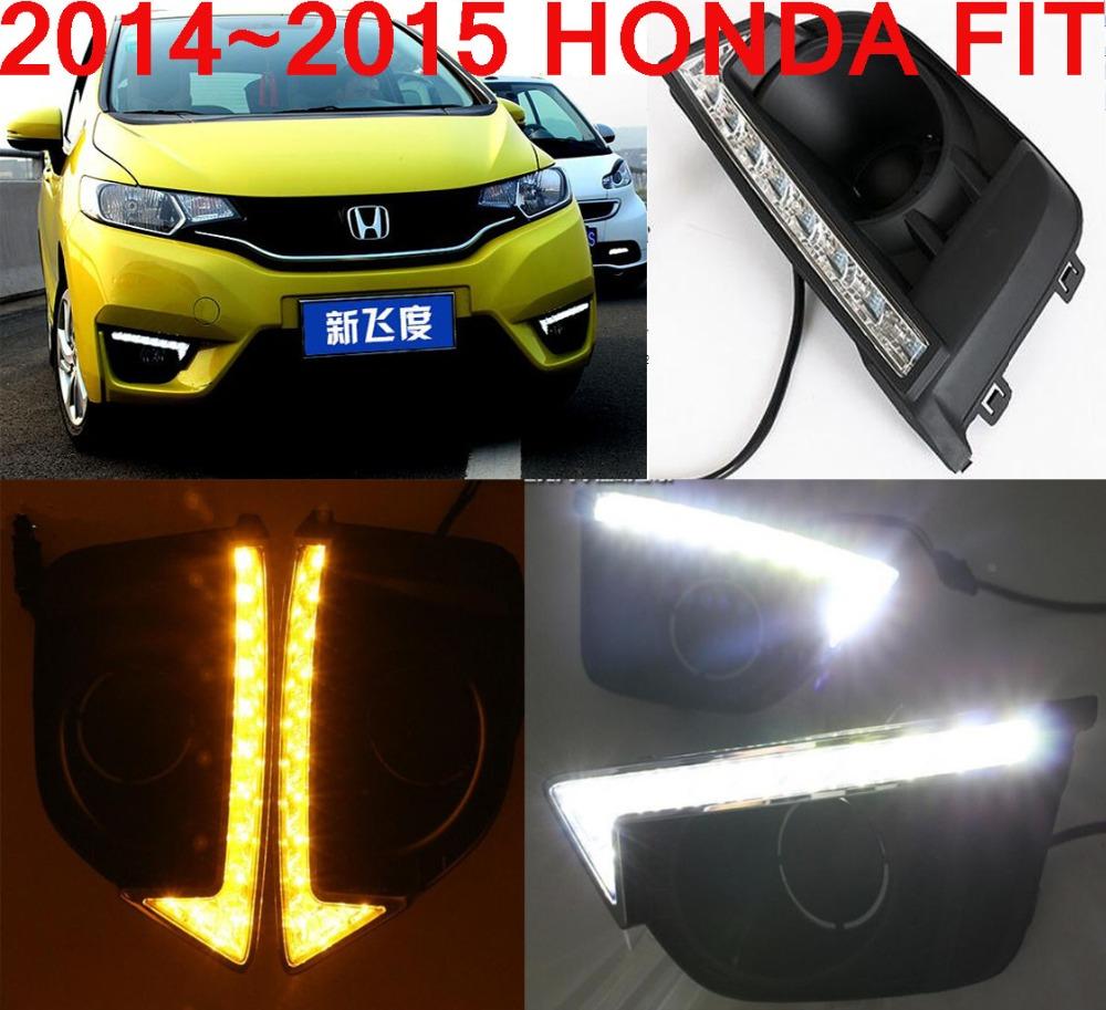 Free ship!2014~2015 fit LED daytime running light,2pcs/SET(1pcs Left+1pcs Right+wire of harness),6000~7000K