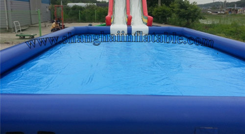 low cost and good price large inflatable pool inflatable swimming pool(China (Mainland))