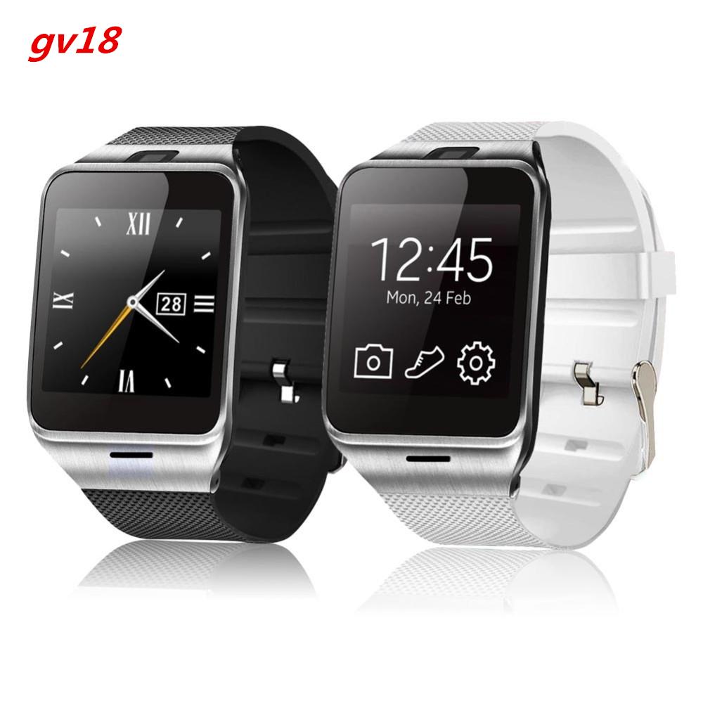 2016 Fashion Aplus Smart Watch GV18 Support Micro SIM Card Communication Bluetooth 3.0 Clock 550mAh Battery Long Duration(China (Mainland))