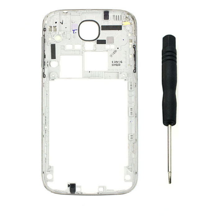 Malloom Middle Housing Frame Repair Parts Plate For Samsung Galaxy S4 I9500 Mobile phone accessories cheap(China (Mainland))