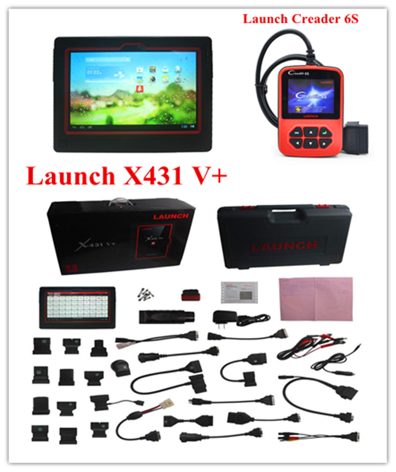 Launch X431 V+ Wifi/Bluetooth Full System Scanner X431 V+ scanner Auto Car Wireless Diagnostic Tool(China (Mainland))