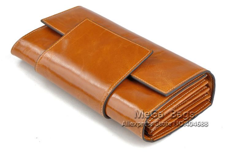 Бесплатная доставка из натуральной кожи бумажник женщин