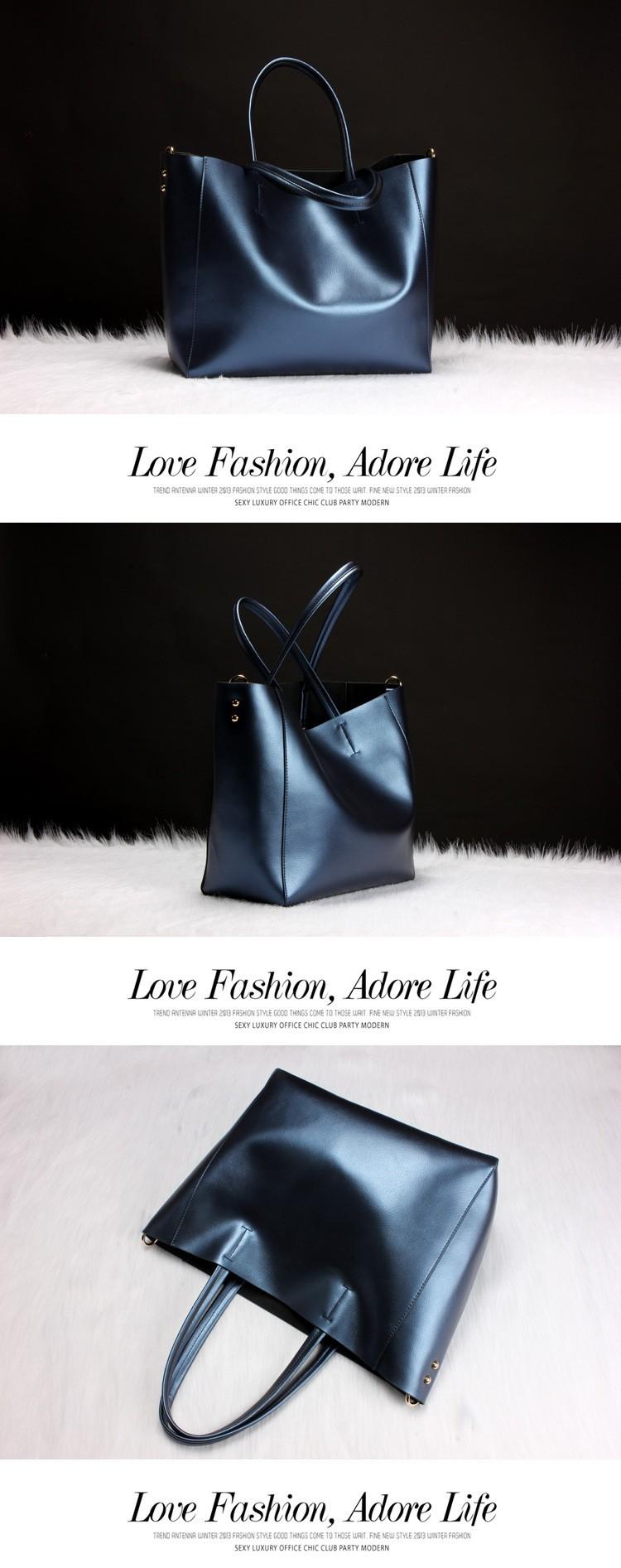 Woman bags 2016 luxury genuine leather handbag shoulder women big bag crossbody shopping bags