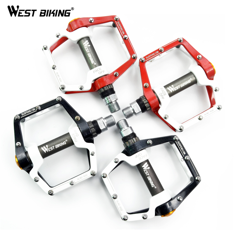 Newest 1 Pair BMX Road MTB Parts Bike Pedals Ultralight Aluminum Alloy Bike Pedal Sealed Bearing Pro Cycling Bicycle Bike Pedals(China (Mainland))