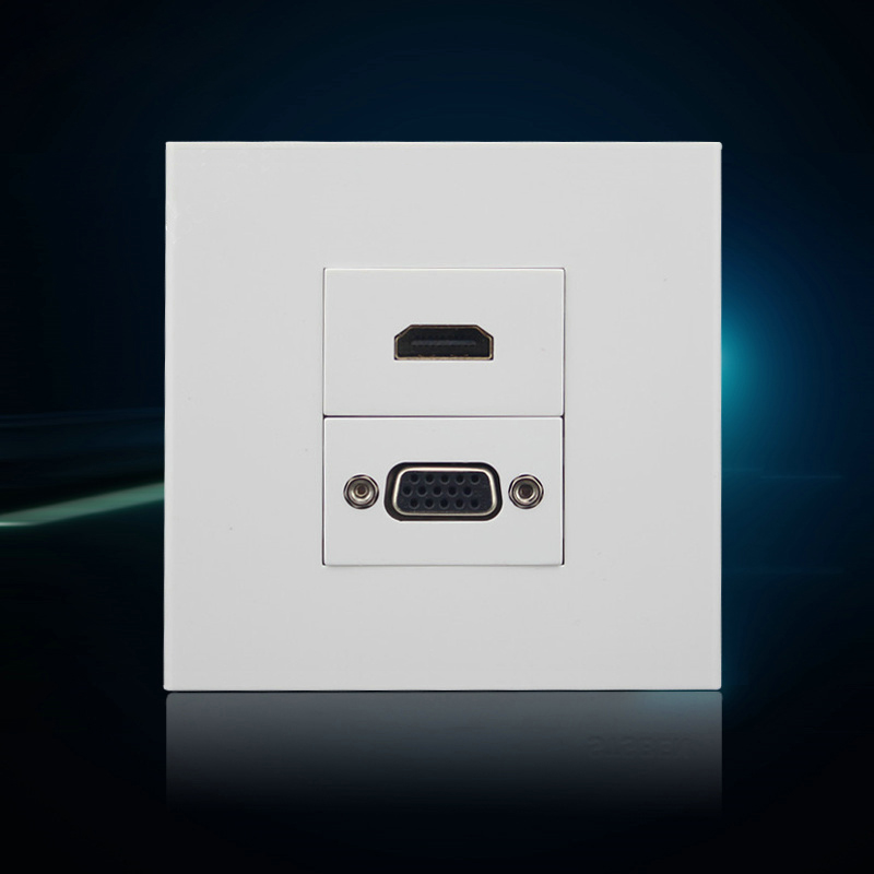 compare prices on hdmi wall outlet online shopping buy low price hdmi wall outlet at factory. Black Bedroom Furniture Sets. Home Design Ideas