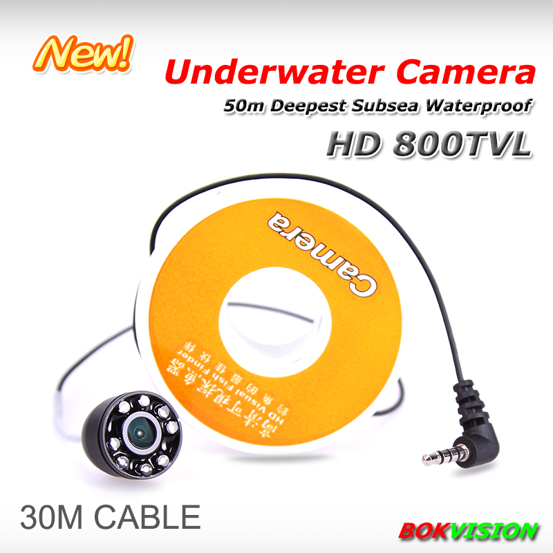 HD 800TVL underwater camera for fishing under water detecting cctv 8pcs IR LED security camera with 30m super strong cable(China (Mainland))