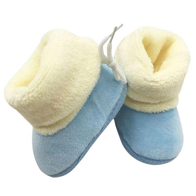 2016 детские зима теплая снегоступы малышей девушки ботинки хлопка новорожденный ...