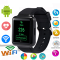 2016 Q1 Android 5 1 OS 512MB 4GB Smart Watch MTK6580 Quad core 1 54 IPS