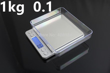 Buy 5pcs/lot 1000g *0.1g HOT SOLD Mini Electronic LCD Digitail pocket scale kitchen food tools weight jewelry scale for $42.77 in AliExpress store