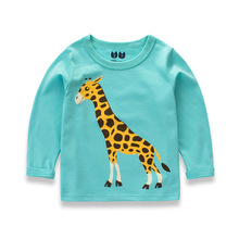 Buy 2017 Spring Girls Shirts Long Sleeve Cotton Children T Shirts Baby Boys Clothes Toddler Kids Clothes Girls 2 5 6 7 8 9 10 Years for $7.46 in AliExpress store