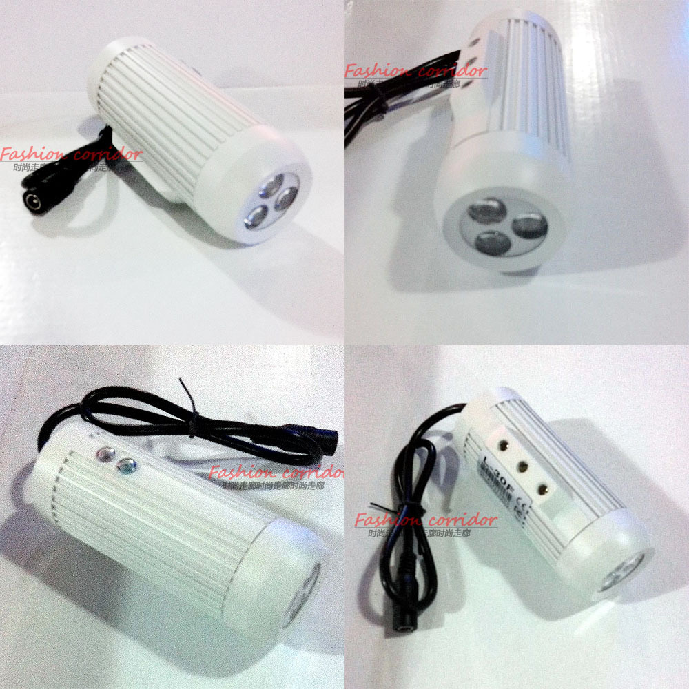 CCTV security monitoring infrared illuminator LED array invisible indoor /outdoor 2400MW850nm of 30M L-30R30 degree IP-66 silver(China (Mainland))