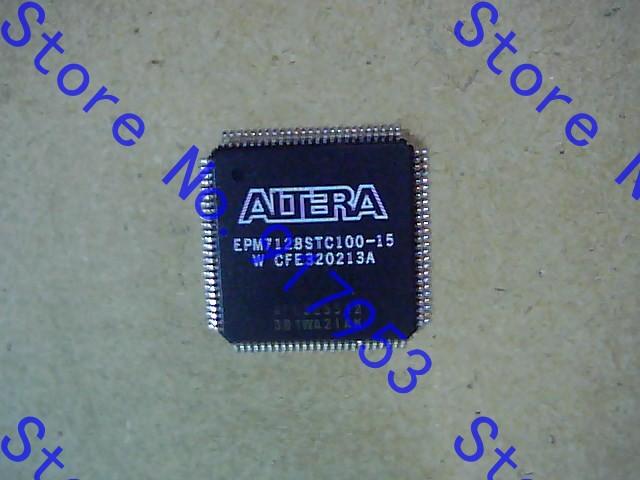 EPM7128STC100-15 IC MAX 7000 CPLD 128 100-TQFP EPM7128STC100-15 7128 EPM7128STC100 EPM7128 EPM7128S EPM7128ST(China (Mainland))