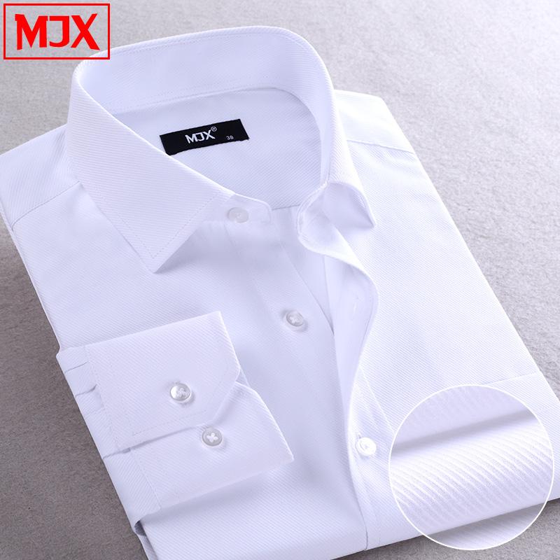 Men Shirt Long Sleeves Business Shirt Men Slim Fit Casual Mens Dress Shirts Men's Clothing Work Wear Plus Size New 2016(China (Mainland))
