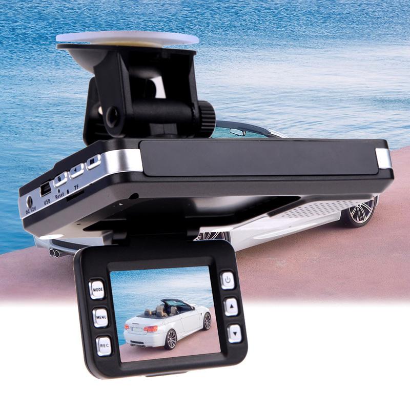 V1NF 2 Car DVR Camera Recorder Video Radar Laser Speed Detector Night Vision G Sensor Led