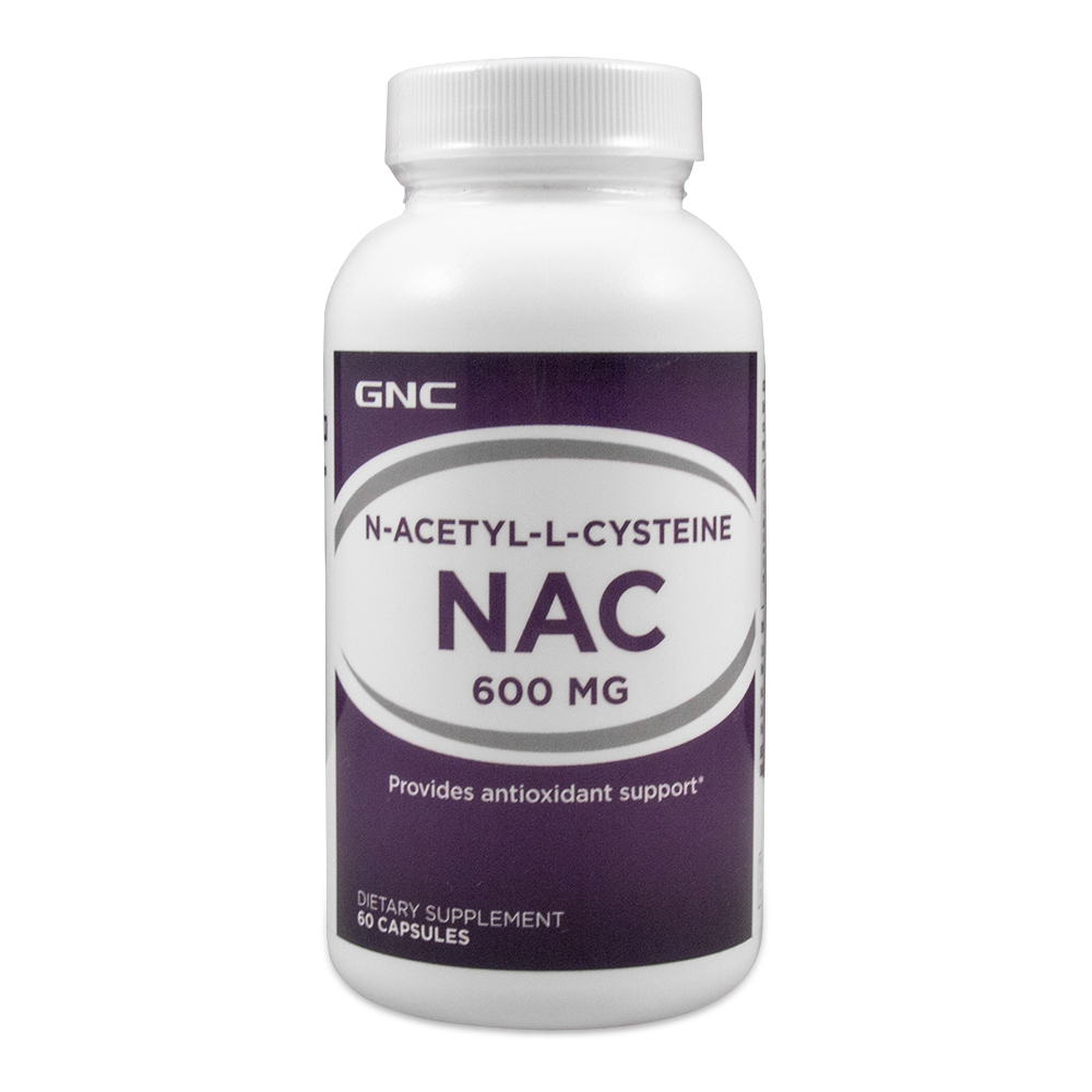 Acetyl L Cysteine NAC 600 mg 60 Capsules Free shipping-in Slimming ...