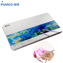 Buy Marco 24/36/48/72 Colors Professional Colored Pencil Painting Watercolor Pencils Mechanical Pencils Drawing School Supplies for $23.70 in AliExpress store