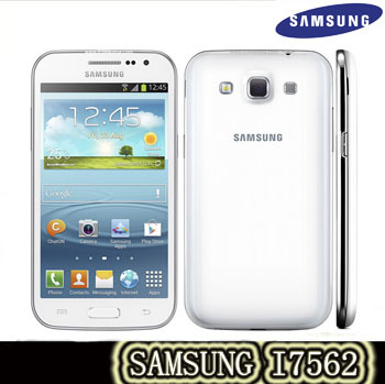 s7562 Original Samsung Duos S7562 cell phone 5MP camera wifi GPS 3g android 4.0 dual sim phone refurbished Free shipping(China (Mainland))