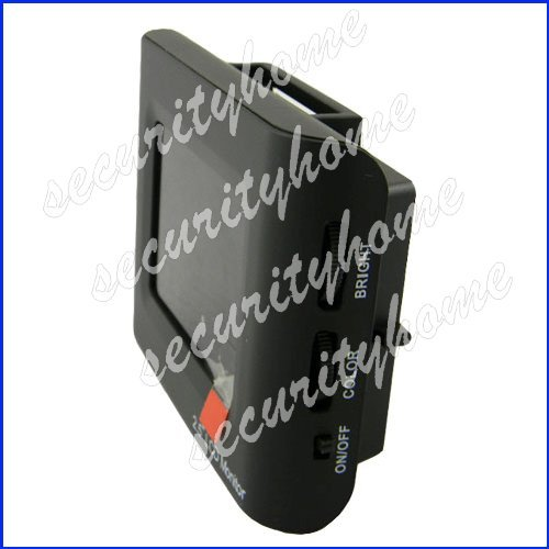 """Portable Security CCTV Video Camera Tester 2.5"""" LCD Monitor Rechargeable Battery(China (Mainland))"""