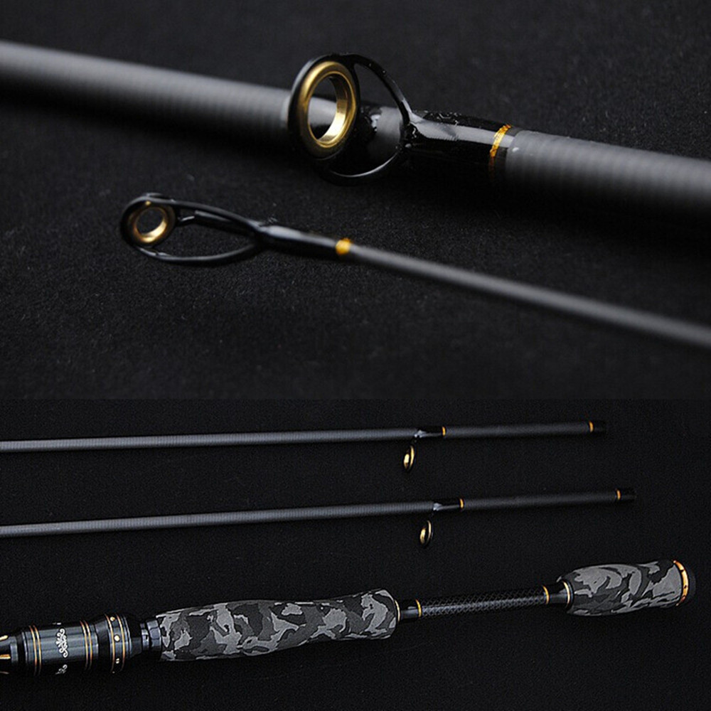 M MH Power 2 Tips 2 SEC Casting Spinning Rod Top Lure Rod 2.1M 2.4M Feeder Fishing Rod Carbon Fishing Tackle Peche Olta daiwa B(China (Mainland))