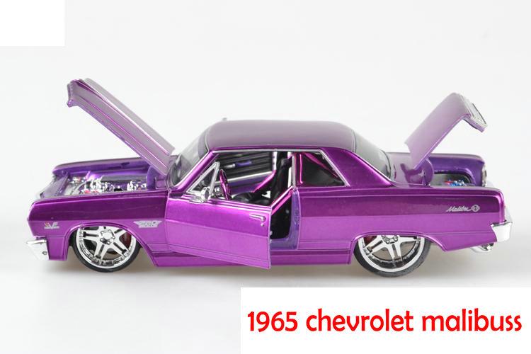 Maisto 1:24 1965 CHEVROLET MALIBU SS car model diecast boys gifts free shipping(China (Mainland))