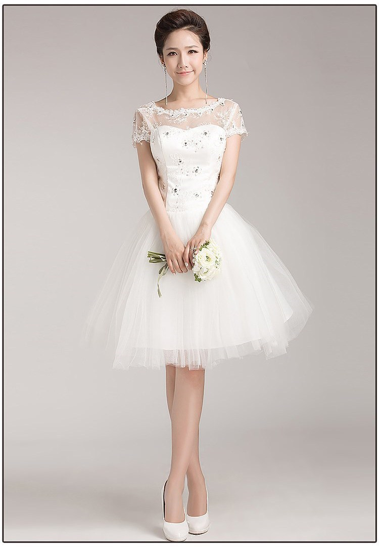 Dress cocktail dress picture more detailed picture about for Wedding dress ideas for short brides