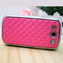 Buy Luxury S3 Neo Bling Rhinestone Plastic Hard Case Samsung Galaxy S3 Duos i9300i i9300 Chrome Cover for $2.79 in AliExpress store