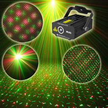 Buy Mini Led Laser Stage Light Sound Activated Disco DJ Star Stage laser Projector Lighting Wedding Show Club Pub Light KTV Party for $23.99 in AliExpress store