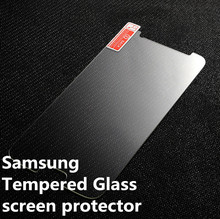 Factory wholesale Tempered glass screen protector For Samsung Galaxy S3 4 5 6 A3 A5 A7 E5 E7 Note2 3 4 toughened protective film
