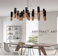delightfull ike chandelier modern design pendant lamp suspension light dinning room living room restaurant black and