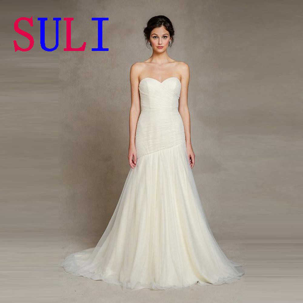 Simple wedding dress buy : Aliexpress buy sg simple wedding dress sweetheart