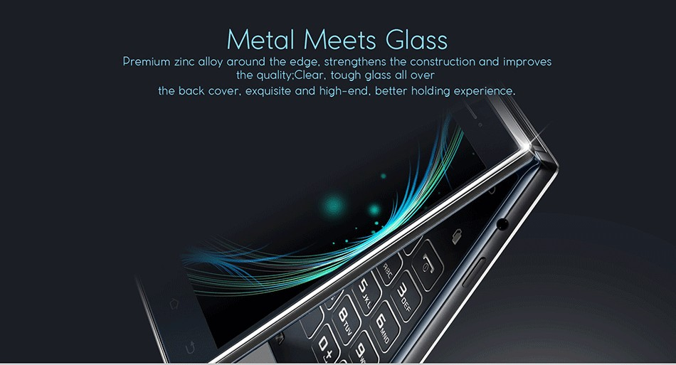 VKworld T2 3G Smartphone ROM 8GB+RAM 1GB MTK6580 Dual-screen Dual-ear Speaker Flip Business Phone Android 5.1 Quad Core 1.3GHZ