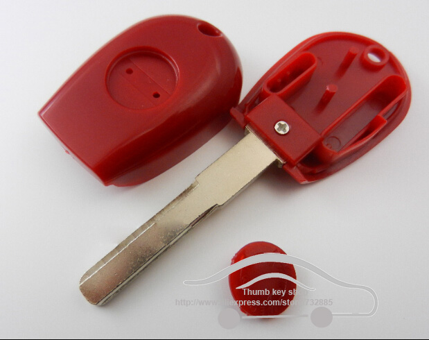 Replacement Car Key Blanks Cover For 2000-2004 Alfa Romeo 166 With SIP16 Blade Transponder Key Shell FOB(China (Mainland))