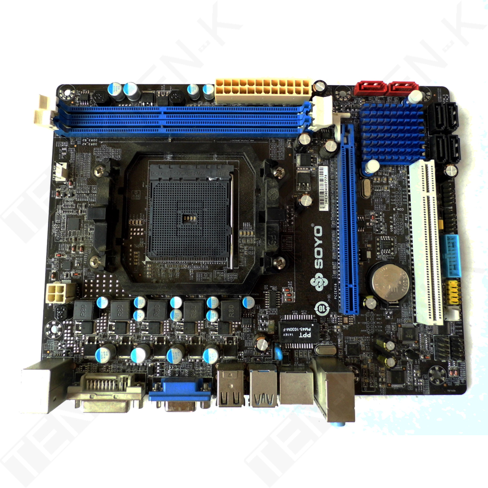 USED SY-A85XM-RL FM2+/FM2 SATA III A85XM Motherboard for Desktop PC(China (Mainland))