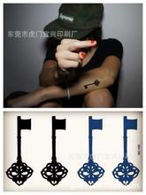 Water wave body tattoo stickers key throwaway fashion waterproof stickers HC-103